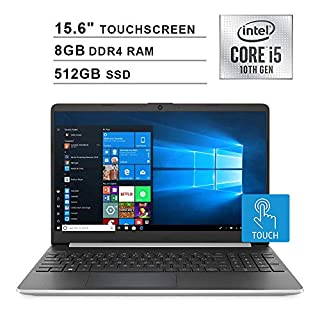 2020 NexiGo Upgraded Pavilion 15.6 Inch Touchscreen Laptop| 10th Gen Intel Core i5-1035G1 (Beats i7-7500U)| 8GB DDR4 RAM| 512GB SSD| Intel UHD Graphics| HDMI| WiFi| Bluetooth| Webcam| Windows 10