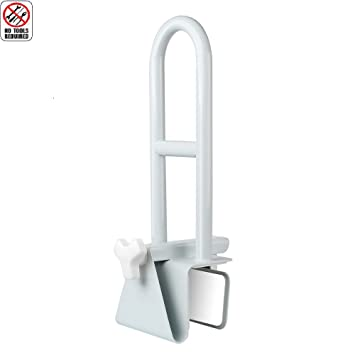 JCMASTER Bathtub Rail Grab Bar, Bathroom Safety Rail For Elderly, Disabled,  Adjustable Handrail