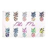 Desert Cactus Phi Mu Pop Art Pineapple Sorority Flag Greek Letter Use as a Banner 3 x 5 Feet Sign Decor