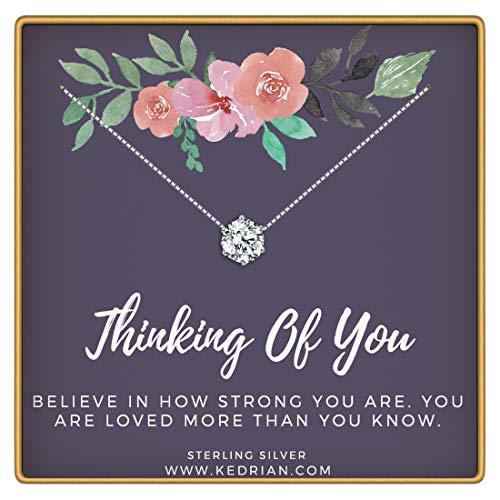 KEDRIAN Thinking Necklaces Chemotherapy Encouragement