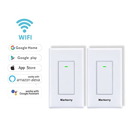 Smart Switch WIFI Switch, Compatible with Alexa Google