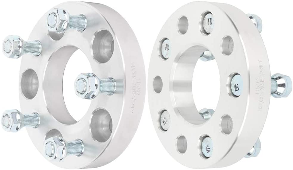 Wheel Spacer 5x4.5,ECCPP 5 lug Wheel Spacers 4X 1 5x4.5 to 5x4.5 70.5mm 1//2x20 Fit for 1994-2004 Ford Mustang Crown Victoria Ranger Lincoln Town Car Mazda B3000 B4000