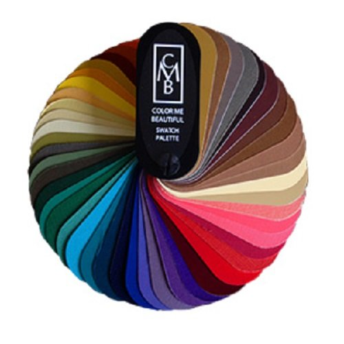 Color Me Beautiful 3 SEASONAL SWATCH FANS: Spring, - Color Me Beautiful Color Swatches