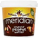 Meridian Natural Crunchy Peanut Butter With No Added Salt, 1Kg