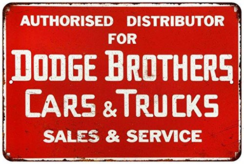 Distributor Dodge Brothers Cars Vintage Reproduction Metal Sign 8x12 8122747 (Dodge Brothers)