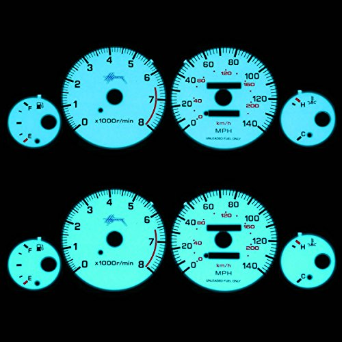 - For Nissan Maxima Indiglo Reverse Glow Gauge - A32