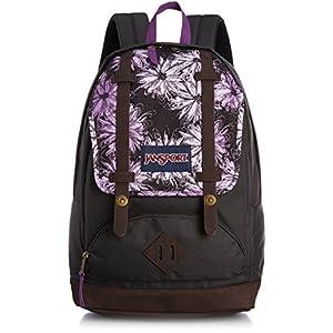 JanSport Cortlandt Backpack - Multi Purple Ombre Daisy