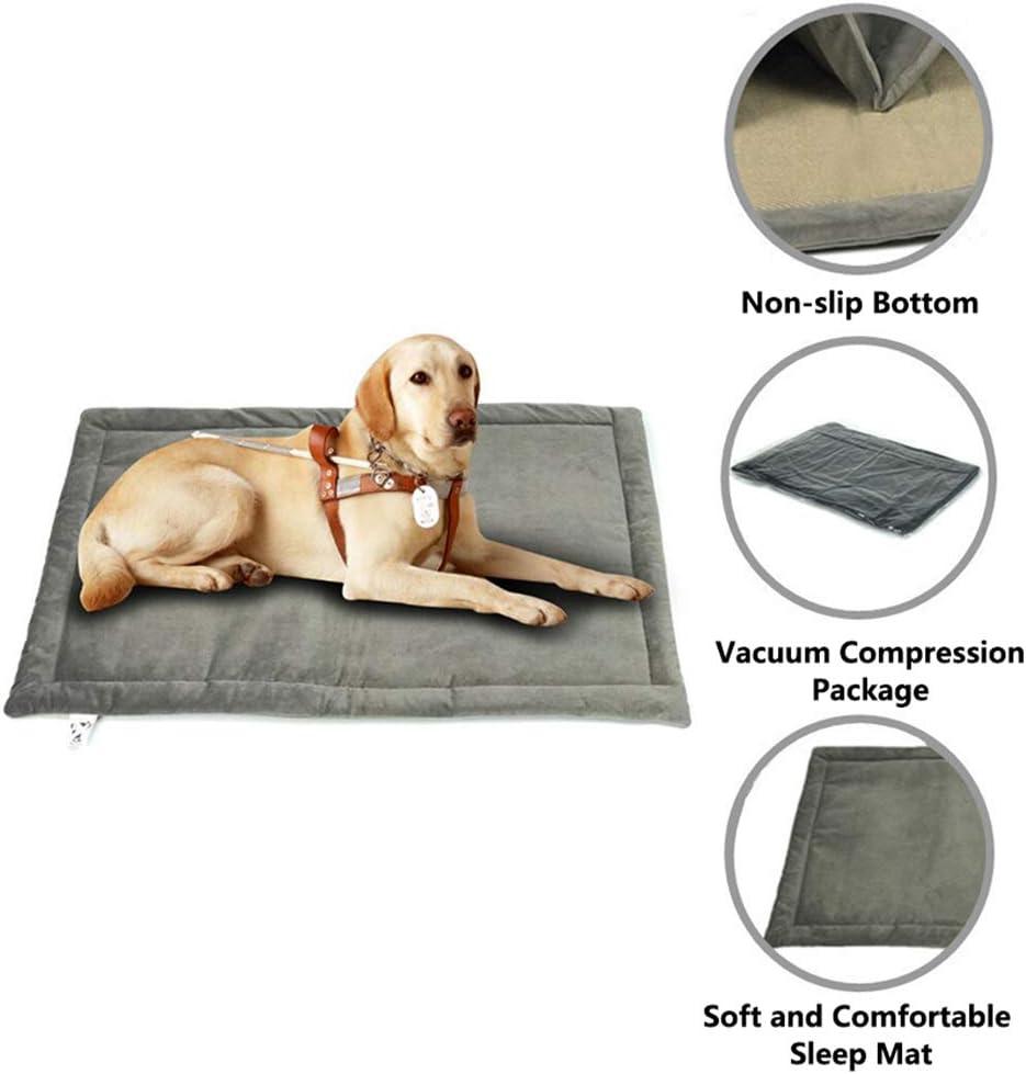 laamei Colchoneta Antideslizante para Mascota Perro Gato Cojín Alfombra Suave de Cama Plegable Anti-Suciedad Acolchada Manta Térmica para Perros Mascotas: laamei: Amazon.es: Productos para mascotas