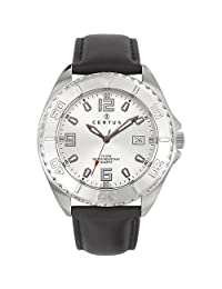 Certus Paris Men's 610995 Classic Silver Dial Date Watch