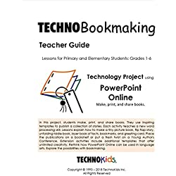 TechnoBookmaking: Easy to Make Books, 14 Templates for Google Slides Or PowerPoint, Language Arts Story Writing Unit (Office Online)