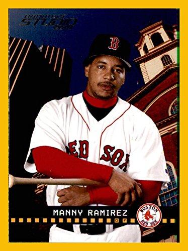 - 2004 Studio #36 Manny Ramirez BOSTON RED SOX