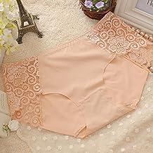SEVE High Quality Soft Bamboo Fiber Underwear Women Panties Seamless Silk Lace G-Stri