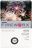 Boise MP2204IY FIREWORX Colored Paper, 20-Pound, 8-1/2 x 14, Flashing Ivory, 500 Sheets/Ream, Office Central