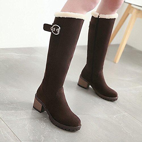 Elegant Brown Misssasa Giorni Ogni Scuro Donna Boots Per Scarpe wHxqS7zB