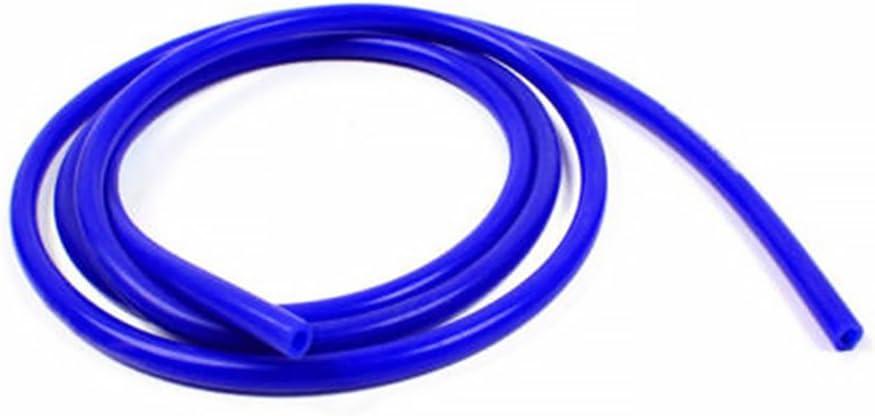 1 m Azul Tubo de Aire Azul 7mm Inner Diameter Azul Manguera de vac/ío de Silicona Ainstsk Manguera de Tubo de Silicona