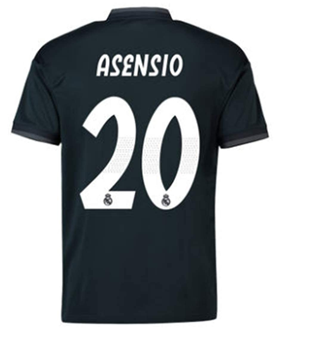 first rate 4f942 3f45b Amazon.com: LISIMKE Soccer Team 2018/19 Real Madrid Away ...