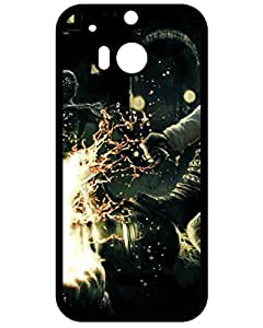 New Style Htc One M8 Case, Ultra Hybrid Hard Plastic Htc One M8 Case Cover, Amazing Shadows Of The Damned Graph Phone Accessories 2120221ZA270170831M8 Animation game phone case's Shop