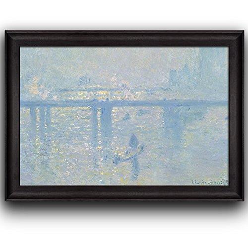 Charing Cross Bridge by Claude Monet Framed Art