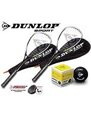 DUNLOP Ti Series Squashschläger (Verschiedene Optionen)