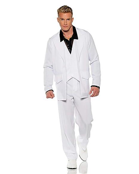 Horror-Shop 70s Traje Blanco One Size: Amazon.es: Juguetes y ...