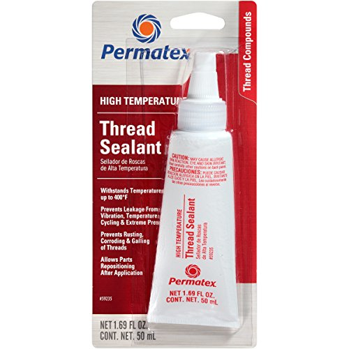Permatex 59235 High Temperature Thread Sealant, 50 ml Tube ()