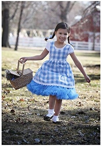 Big Girls' Tutu Dorothy Costume X-small (Wizard Of Oz Dorothy Costume For Kids)