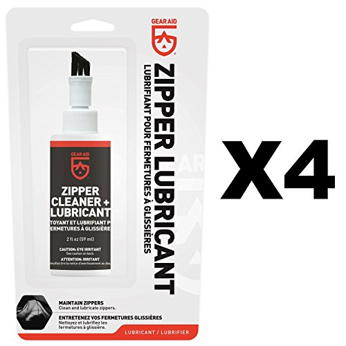 Price comparison product image McNett Gear Aid Zip Care Zipper Cleaner & Lubricant 2oz Repair Kit (4-Pack)