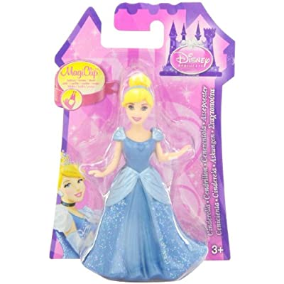 Disney Princess Little Kingdom MagiClip Fashion Cinderella Doll: Toys & Games