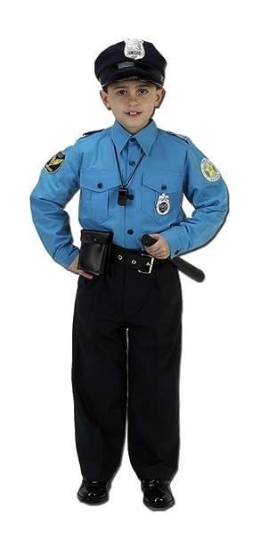 Amazon.com: Niños Policía traje niños fiesta de disfraces ...