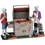 Lemax 54912 GORY GRILLIN Spooky Town Table Accent Lighted Halloween Decor