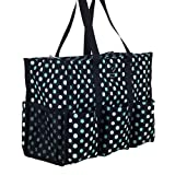 Nursescape Nurse Bag with 13 Exterior & Interior Pockets - Perfect Nursing Tote for Registered Nurses, Nursing Students, Travel Nurses and More (Gradient Dots)