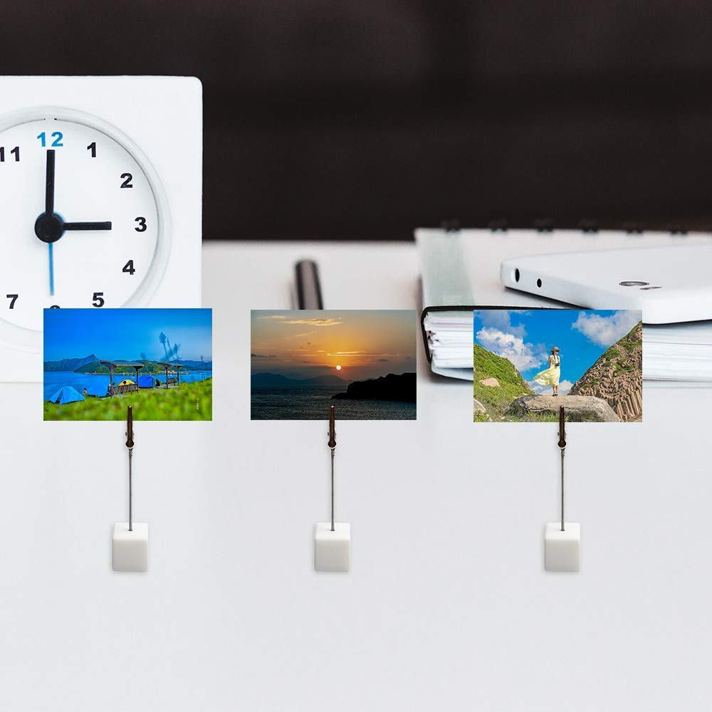 Supporto clip con fermaglio a molletta per foto note cartoline