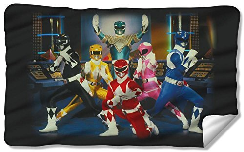 Power Rangers - Stance Fleece Blanket 57 x 35in (Power Rangers Blankets)