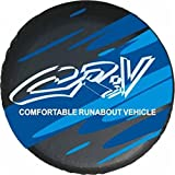 spare wheel cover for crv - Blue Logo Honda Crv 15 Inch Car Spare Wheel Cover Spare Tire Cover
