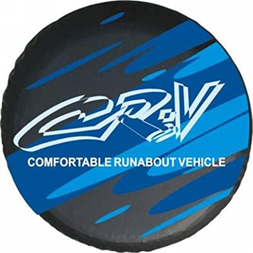 Blue Logo Honda Crv 15 Inch Car Spare Wheel Cover Spare Tire Cover