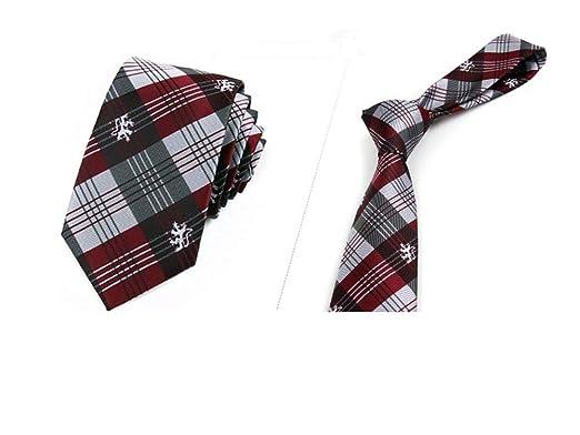 MY JINJI Necktie [Negocio de Corbata] a Cuadros para la entrevista ...