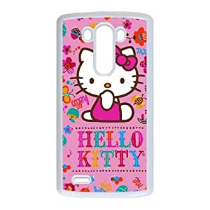 Hello Kitty Smile LG G3 Cell Phone Case White Protect your phone BVS_817558