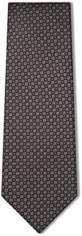 Origin Ties Men's Diamond Polka Dots Pattern Silk Tie Business Necktie