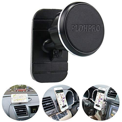 Car Phone Mount Magnetic,PLDHPRO Universal Stick On Car Dashboard Phone Holder 360