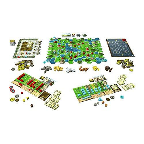 Karma Games KAR38205 Clans of Caledonia, Multi-Colour