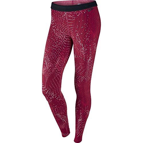 Nike Leg-A-See Print Jersey Women's Sportswear Legging Red 804049-620 (Size XS)