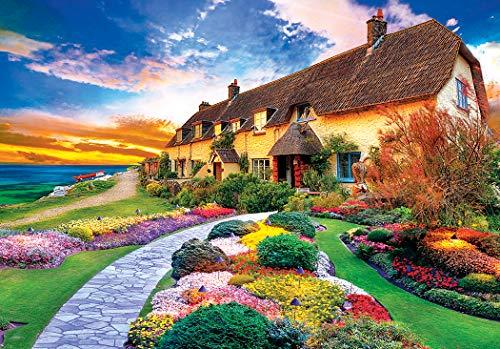 Cottage Sea (LPF Kodak Premium Puzzles: Quaint Cottage by The Sea 1500 pc Jigsaw Puzzle)