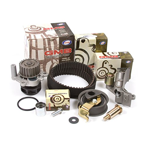 Belt Hydraulic - 01-06 Audi Volkswagen Turbo 1.8 DOHC 20V Timing Belt Kit w/ Hydraulic Tensioner GMB Water Pump