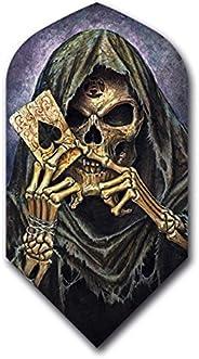 2 Set (6 Flights) Alchemy Grim Reaper Slim Dart Flights