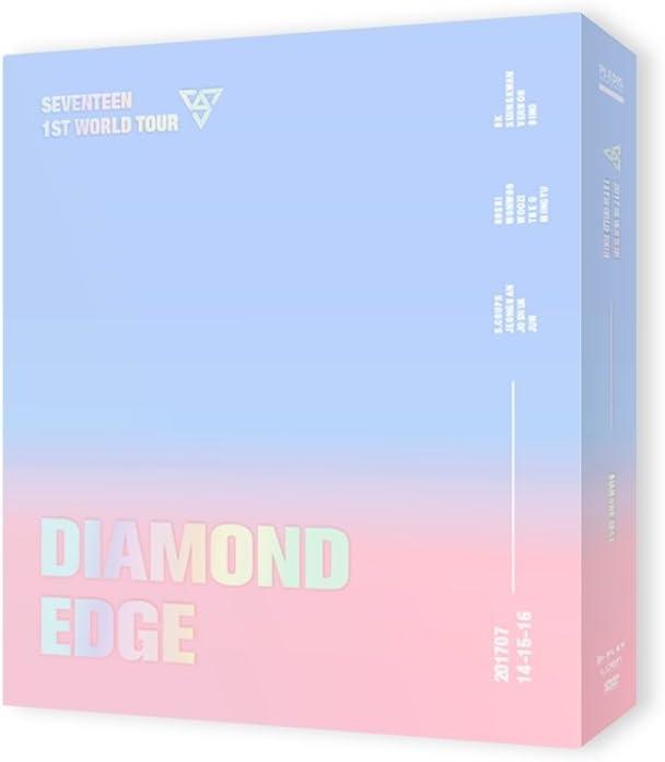 Pledis Entertainment Seventeen - 2017 Seventeen 1ST World Tour Diamond Edge in Seoul Concert DVD 3Disc+Photobook+Goods