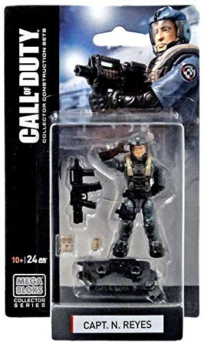 Mega Bloks Call of Duty Capt. N. Reyes Mini Figure Set #77382 (Call Of Duty Infinite Warfare Mega Bloks)