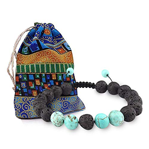 Botrong Natural Stone Bracelet Men Jewelry and Women Gift Fine Ornaments -
