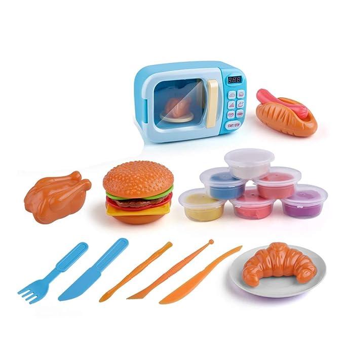 BriskyM - Juguete de microondas para niños con Luces y Sonidos ...