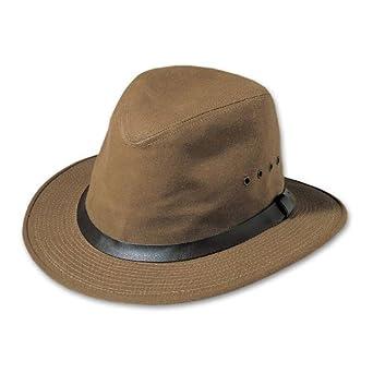 8a8b7cd19ed3 Amazon.com: Filson Insulated Tin Cloth Packer Hat - Tan Small: Clothing