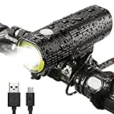 INTEY Bike Light USB Rechargeable Bicycle Lights 1000 Lumens 4500 mAh Bike Headlight IPX6 Waterproof